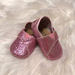 Lil Bobs Sketchers Size 3 Sparkle Pink Shoes